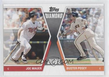 2011 Topps Diamond Duos Series 1 #DD-MP - Buster Posey, Joe Mauer