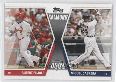 2011 Topps Diamond Duos Series 1 #DD-PC - Albert Pujols, Miguel Cabrera