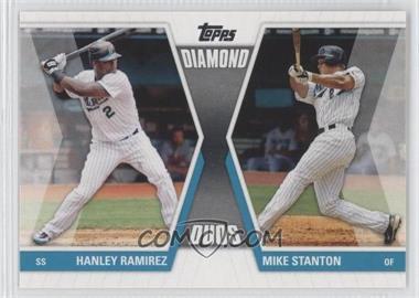 2011 Topps Diamond Duos Series 1 #DD-RS - Hanley Ramirez, Giancarlo Stanton