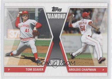 2011 Topps Diamond Duos Series 1 #DD-SC - Tom Seaver, Aroldis Chapman