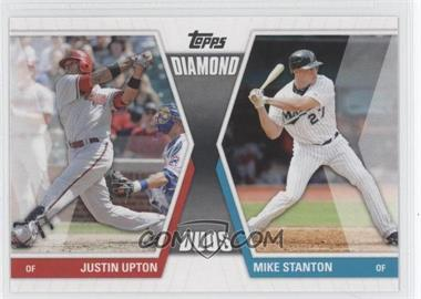 2011 Topps Diamond Duos Series 1 #DD-US - Justin Upton, Mike Stanton