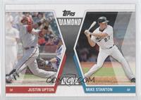 Justin Upton, Mike Stanton
