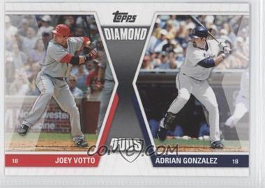 2011 Topps Diamond Duos Series 1 #DD-VG - Joey Votto, Adrian Gonzalez