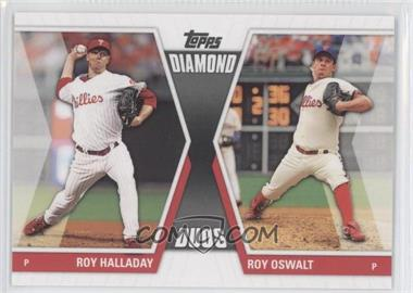 2011 Topps Diamond Duos Series 2 #DD-1 - Roy Halladay, Roy Oswalt