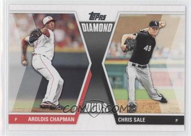 2011 Topps Diamond Duos Series 2 #DD-13 - Aroldis Chapman, Chris Sale