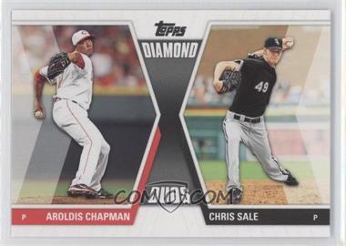 2011 Topps Diamond Duos Series 2 #DD-13 - Aroldis Chapman, Chris Sale