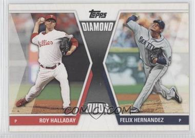 2011 Topps Diamond Duos Series 2 #DD-18 - Roy Halladay, Felix Hernandez