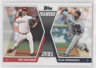 2011 Topps Diamond Duos Series 2 #DD-18 - Roy Halladay, Felix Hernandez