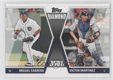 2011 Topps Diamond Duos Series 2 #DD-19 - Miguel Cabrera, Victor Martinez