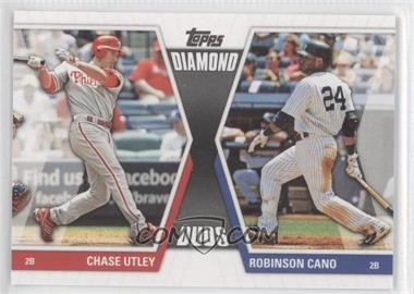 2011 Topps Diamond Duos Series 2 #DD-2 - Chase Utley, Robinson Cano