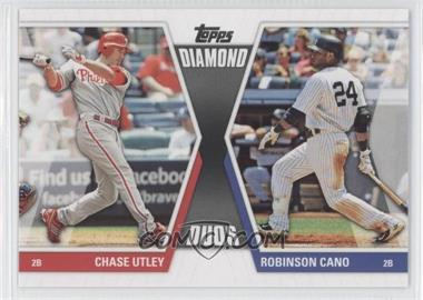 2011 Topps Diamond Duos Series 2 #DD-2 - Chase Utley, Robinson Cano