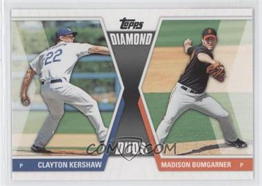 2011 Topps Diamond Duos Series 2 #DD-20 - Clayton Kershaw, Madison Bumgarner