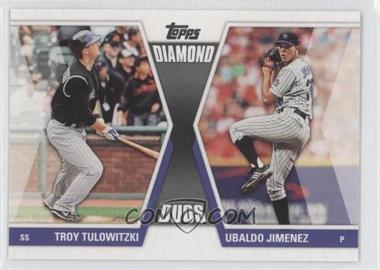 2011 Topps Diamond Duos Series 2 #DD-22 - Troy Tulowitzki, Ubaldo Jimenez