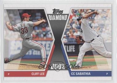 2011 Topps Diamond Duos Series 2 #DD-23 - Cliff Lee, CC Sabathia