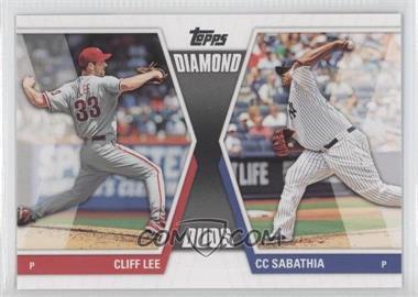 2011 Topps Diamond Duos Series 2 #DD-23 - Cliff Lee, C.C. Sabathia