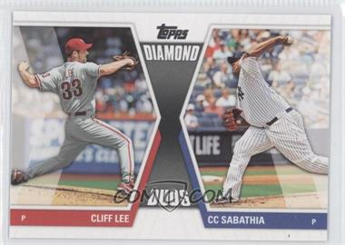 2011 Topps Diamond Duos Series 2 #DD-23 - Cliff Lee, C.C. Sabathia