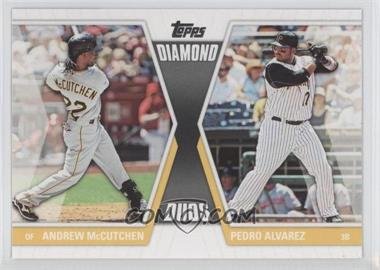 2011 Topps Diamond Duos Series 2 #DD-24 - Andrew McCutchen, Pedro Alvarez