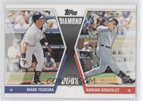 Mark Teixeira, Adrian Gonzalez