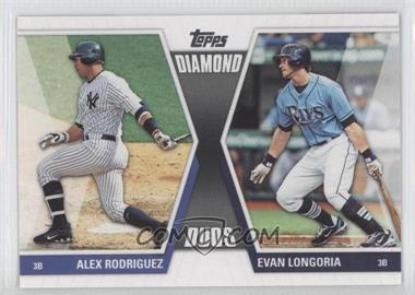 2011 Topps Diamond Duos Series 2 #DD-26 - Alex Rodriguez, Evan Longoria
