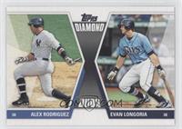 Alex Rodriguez, Evan Longoria