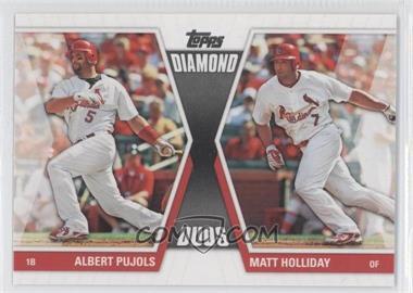 2011 Topps Diamond Duos Series 2 #DD-28 - Albert Pujols, Matt Holliday