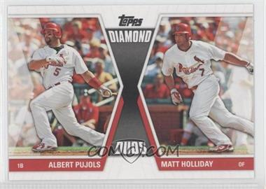 2011 Topps Diamond Duos Series 2 #DD-28 - Albert Pujols, Matt Holliday