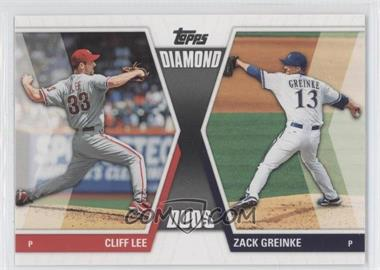 2011 Topps Diamond Duos Series 2 #DD-3 - Cliff Lee, Zack Greinke