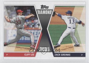 2011 Topps Diamond Duos Series 2 #DD-3 - Cliff Lee, Zack Greinke