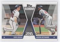 Dan Uggla, Jason Heyward