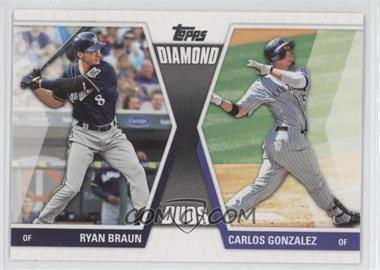 2011 Topps Diamond Duos Series 2 #DD-6 - Ryan Braun
