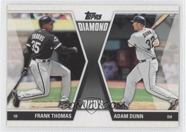 2011 Topps Diamond Duos Series 2 #DD-7 - [Missing]