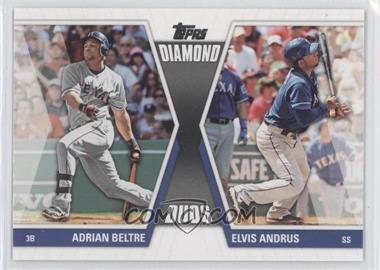2011 Topps Diamond Duos Series 2 #DD-9 - Adrian Beltre, Elvis Andrus