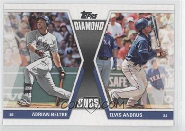 2011 Topps Diamond Duos Series 2 #DD-9 - [Missing]