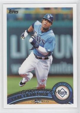 2011 Topps Diamond Sparkle #25 - Carl Crawford