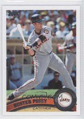2011 Topps Diamond Sparkle #335 - Buster Posey