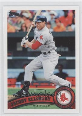 2011 Topps Diamond Sparkle #351 - Jacoby Ellsbury