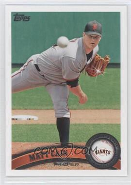 2011 Topps Diamond Sparkle #570 - Matt Cain