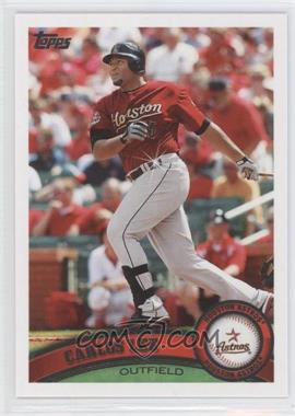 2011 Topps Diamond Sparkle #586 - Carlos Lee