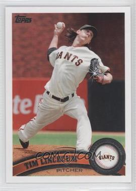 2011 Topps Diamond Sparkle #590 - Tim Lincecum