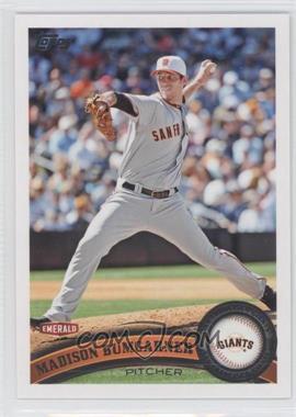 2011 Topps Emerald Nuts San Francisco Giants #SFG2 - Madison Bumgarner