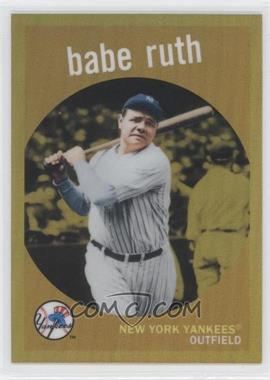 2011 Topps Factory Set Babe Ruth #BR59 - Babe Ruth