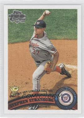 2011 Topps Factory Set [Base] Diamond Anniversary #183 - Stephen Strasburg