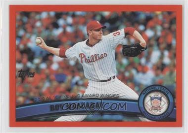 2011 Topps Factory Set [Base] Red #146 - Roy Halladay /245