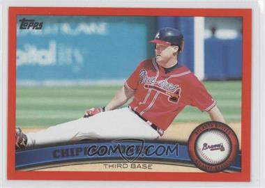 2011 Topps Factory Set [Base] Red #169 - Chipper Jones /245