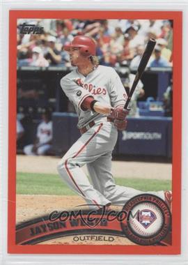 2011 Topps Factory Set [Base] Red #325 - Jayson Werth /245