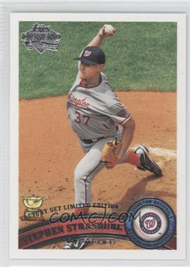 2011 Topps Factory Set Diamond Anniversary #183 - Stephen Strasburg