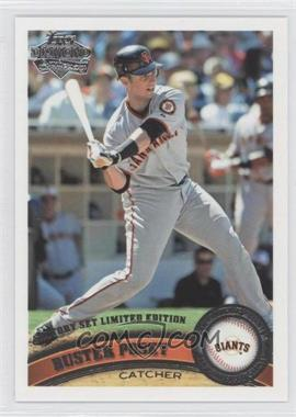 2011 Topps Factory Set Diamond Anniversary #335 - Buster Posey