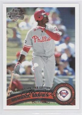 2011 Topps Factory Set Diamond Anniversary #421 - Domonic Brown