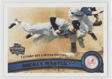 2011 Topps Factory Set Diamond Anniversary #7 - Mickey Mantle