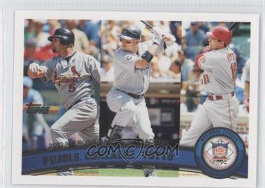 2011 Topps Factory Set Limited Edition #138 - Albert Pujols, Joey Votto